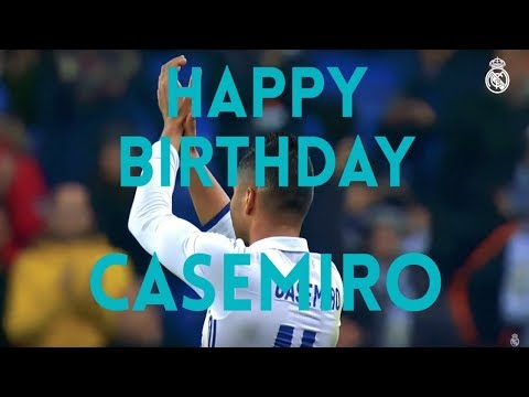 Happy 26th Birthday to Casemiro!