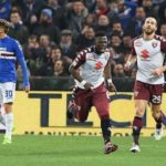 WATCH VIDEO: Afriyie Acquah scores and sees red as Torino draw with Sampdoria
