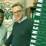 Francis Narh signs for Cypriot side Doxa Katakopias