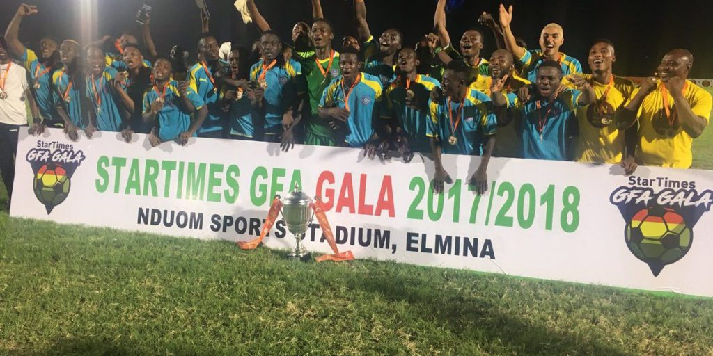 Winning the GFA gala is a clear reflection of our preseason exercise- Wa All Stars CEO Oduro Nyarko