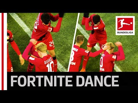 Brandt's Fortnite Goal Celebration