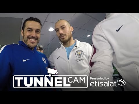 YAYA SLAPS HAZARD AGAIN! | TUNNEL CAM | City 1-0 Chelsea