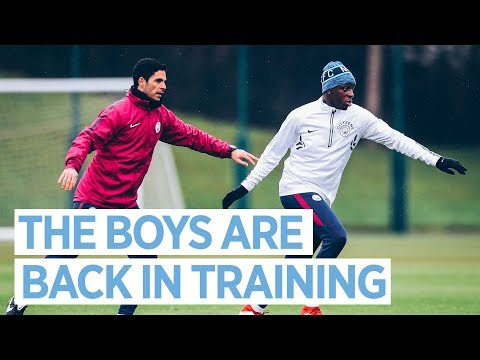 MENDY, STERLING & DELPH TRAIN | Post Chelsea Training Session
