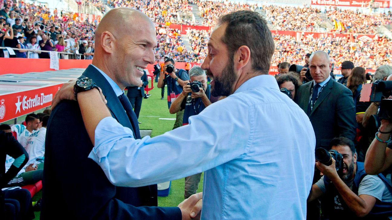 Will Zidane learn lessons of defeat at Girona as Machin's men visit Madrid?