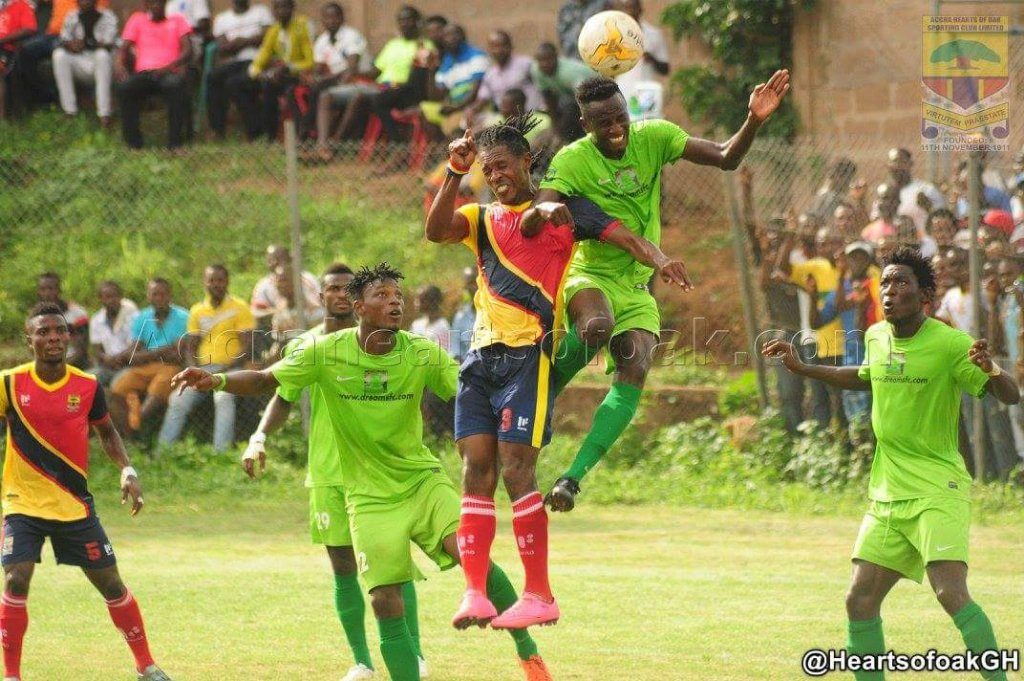 Dreams FC line up Hearts friendly after League postponement