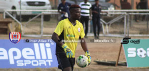 Inter Allies goalkeeper Kwame Baah targets double figures for clean sheets