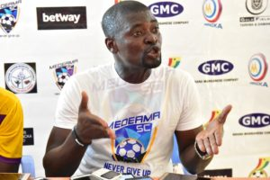 Medeama SC coach not perturbed by goal drought