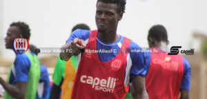 Inter Allies extend the contract of Hashim Musah