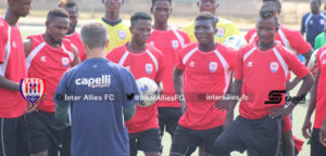 Inter Allies coach charges players to maintain momentum