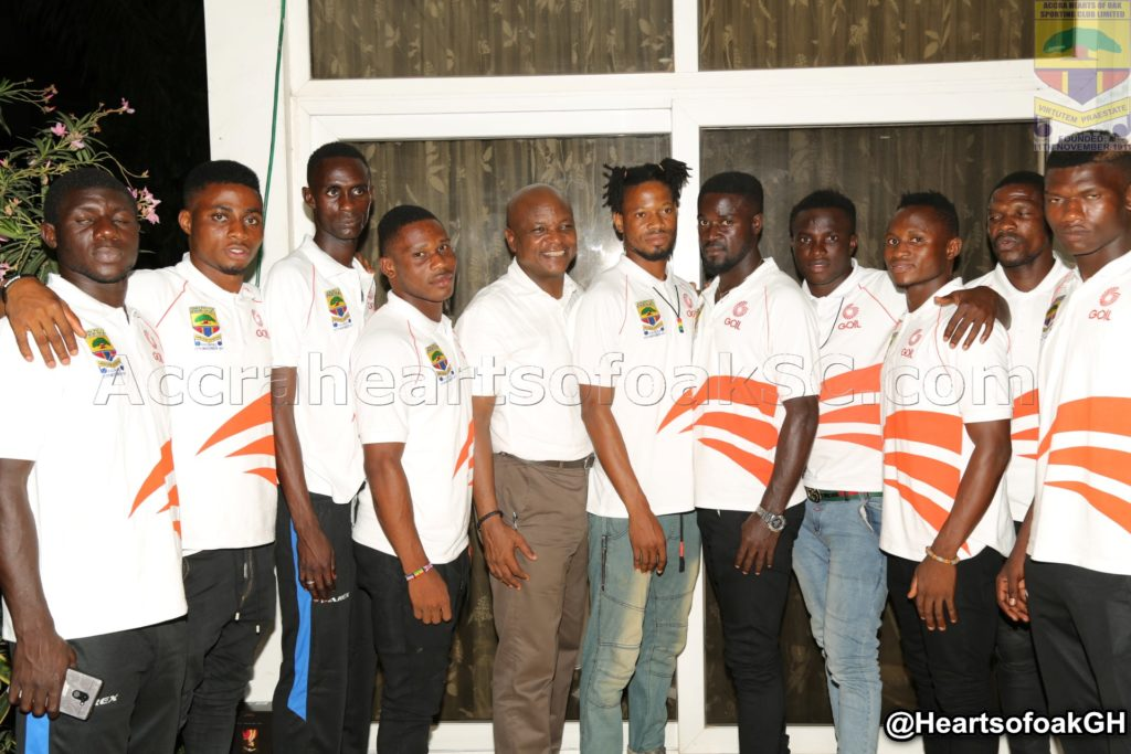 Togbe Afede charges Hearts of Oak players to aim at the highest level