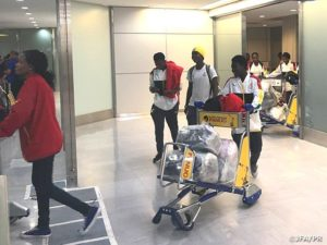 Black Queens arrive in Nagasaki for Japan friendly on Sunday