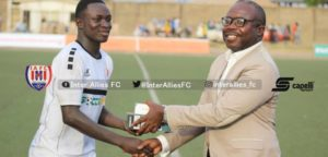 Nigerien International Victorien Adje Adebayor named NASCO MVP in Allies win