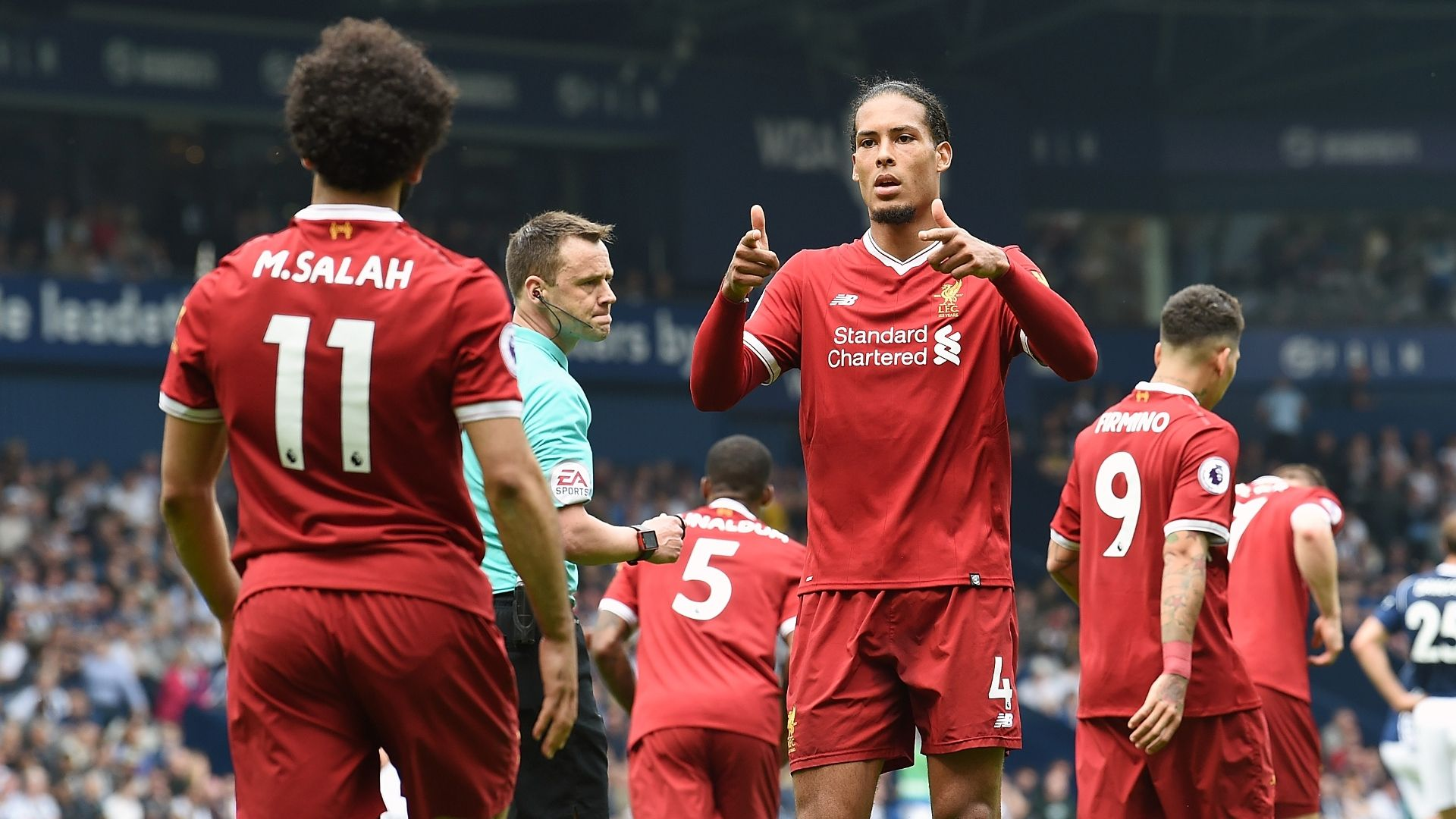 Reds' defence 'no reason to panic' - Van Dijk