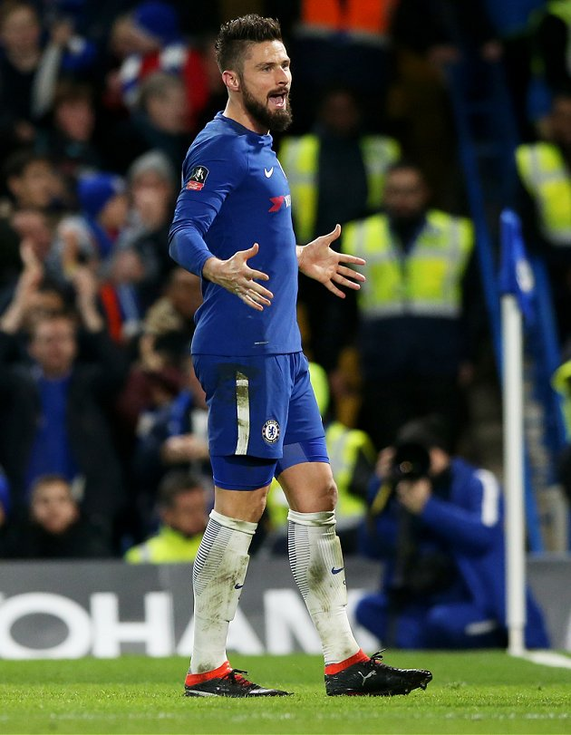 ​Chelsea star Hazard predicts Giroud as difference in FA Cup final