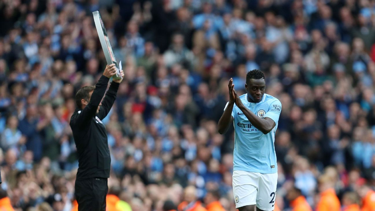 Benjamin Mendy: Man City return 'amazing' after eight-month injury recovery