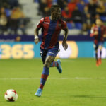 Ghanaian forward Emmanuel Boateng happy score on return from injury