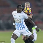 Napoli and Shaktar Doneskt join chase for Ghana striker Raphael Dwamena