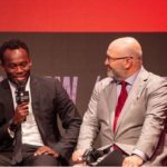 Michael Essien joins other football legends in launching the 2018 International Champions Cup in Miami