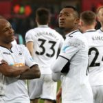 Swansea manager happy with Ayew brothers and their teammates