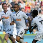 Jordan Ayew receives massive praise from Swansea teammate