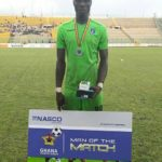 In form Bechem United striker Konkoni works as a pupil's teacher