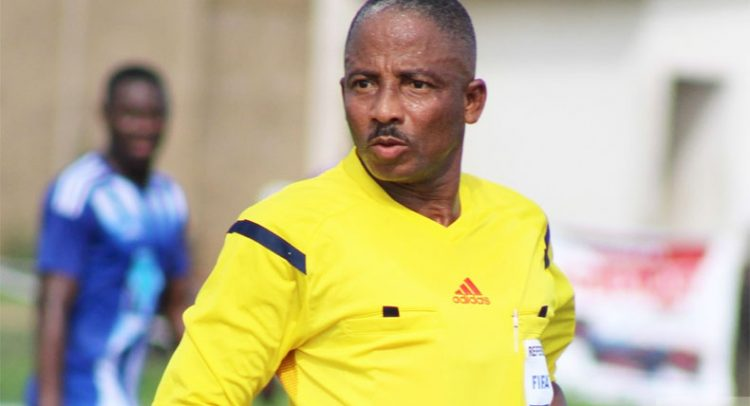 Referee Reginal Lathbridge dropped from CAF Confederations Cup game after ban