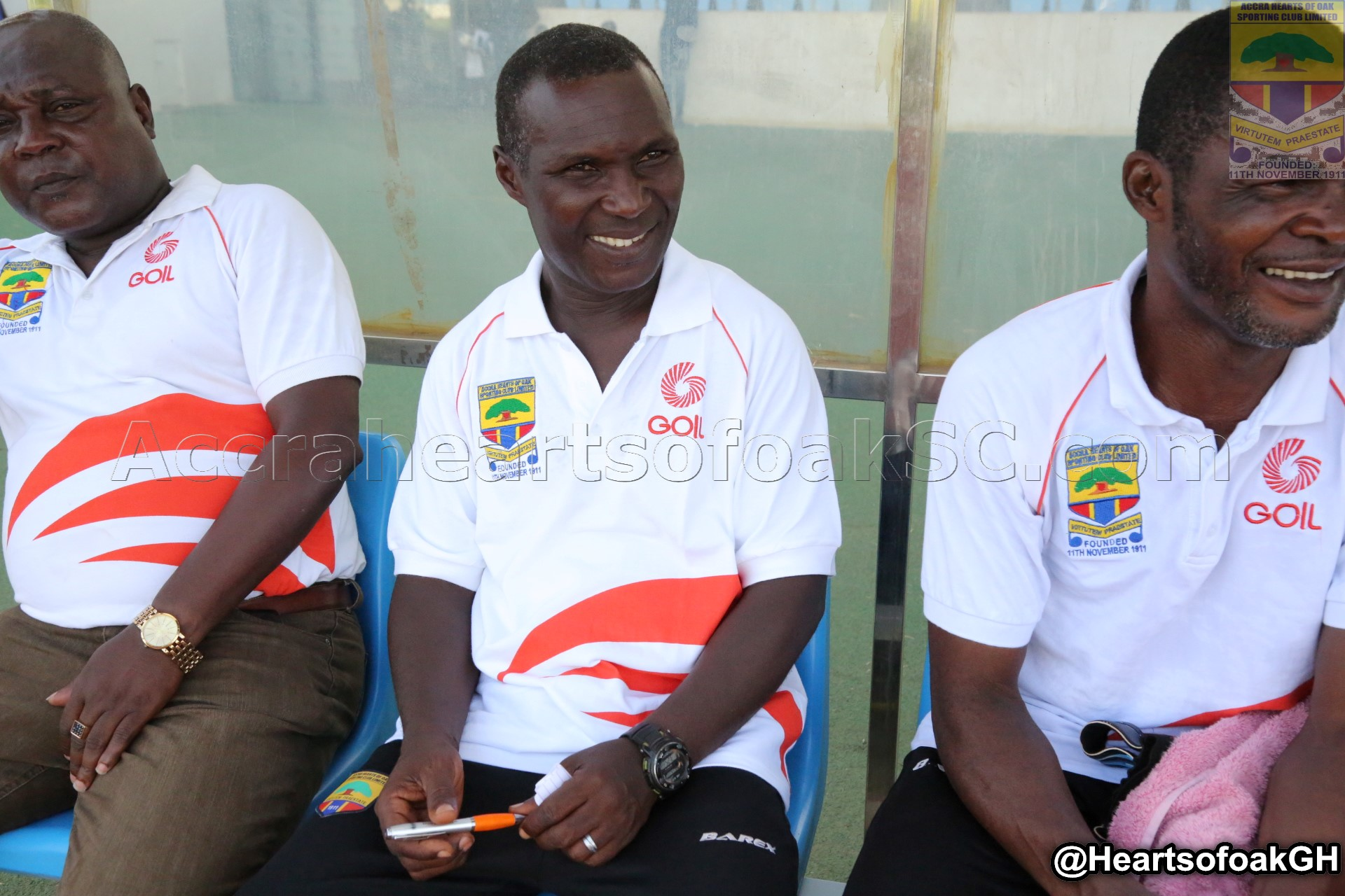Heasrts assistant Coach Edward Odoom says the club needs prayers