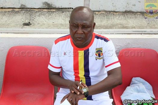J.E.A Sarpong advises Hearts Coach Henry Wellington to quit