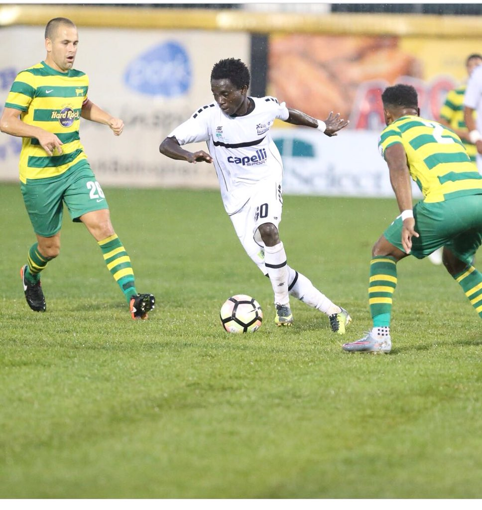 Fredrick Opoku Yamoah features in Penn FC draw