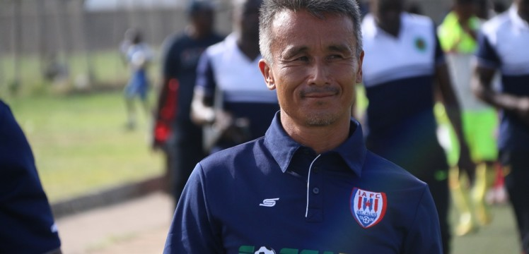Inter Allies home performance impresses head coach Kenichi