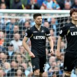 Ayew brother's Swansea City walloped 5:0 by Manchester City