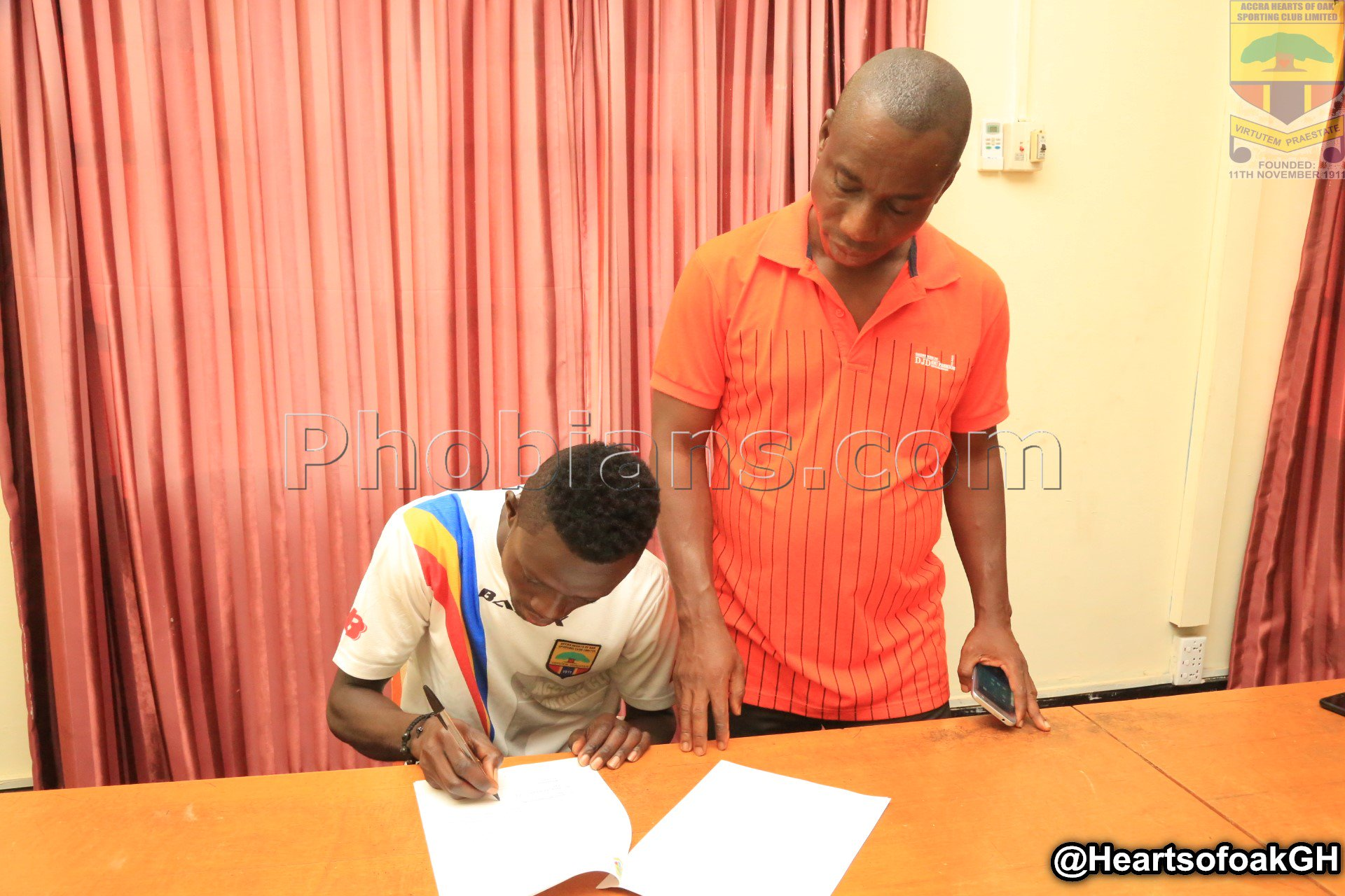 I joined Hearts of Oak to improve my career - William Dankyi