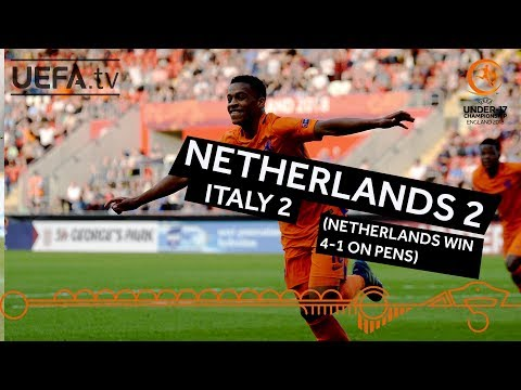U17 final highlights: Italy v Netherlands