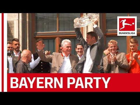 Bayern's Big Bundesliga Celebrations