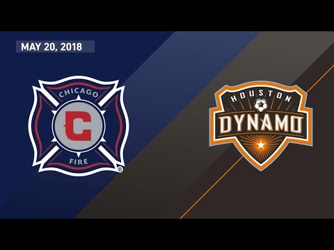 HIGHLIGHTS: Chicago Fire vs. Houston Dynamo | May 20, 2018