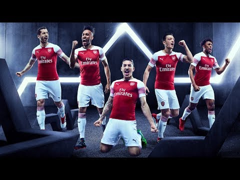 Introducing Arsenal's 2018/19 PUMA home kit