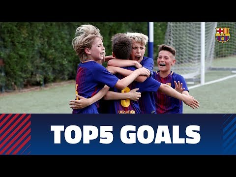 FCB Masia-Academy: Top 5 goals 19-20 May