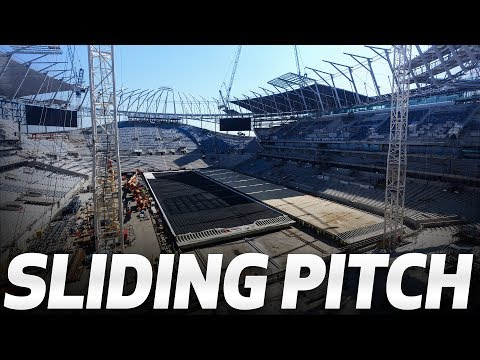 SPURS NEW STADIUM | SLIDING PITCH UPDATE