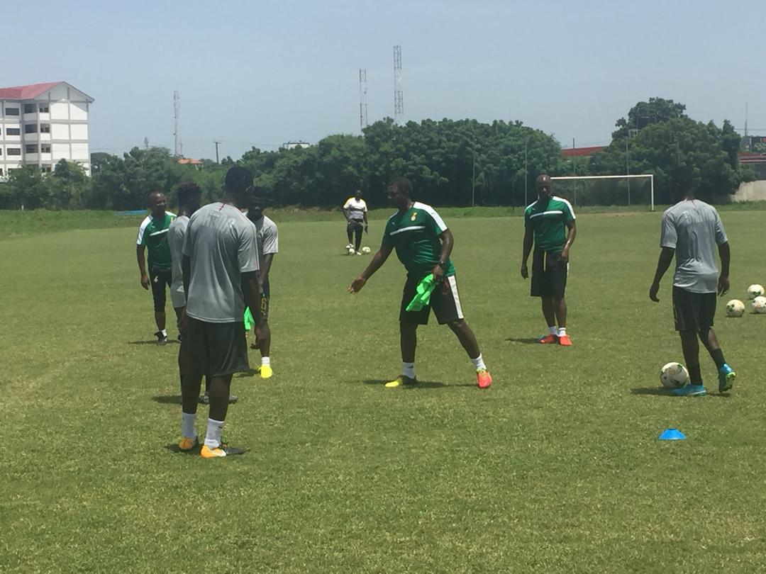 Black Stars training ahead of Japan and Iceland clash in pictures