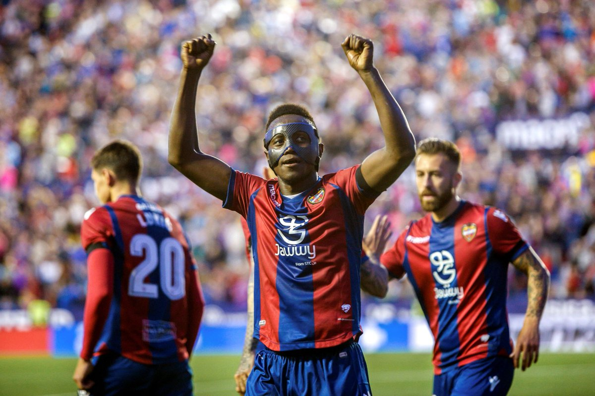 Emmanuel Boateng applauds Levante supporters for successful season