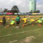 AYC Qualifiers: Black Satellites complete final training session ahead of Ethiopia clash