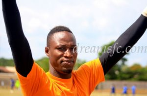 Dreams FC goalkeeper Isaac Akrong hoping to bounce back after Aduana defeat