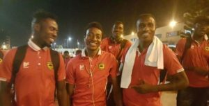 Kotoko arrive in Accra for Hearts President Cup clash