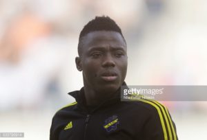 Ghanaian youngster Patrick Kpozo shines in Europa league with AIK Stockholm