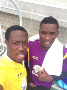 Medeama SC goalie Daniel Agyei not giving up on a place in the next stage of the CAF Confed. Cup