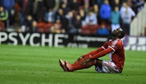 Albert Adomah suffers minor injury with Middlesbrough