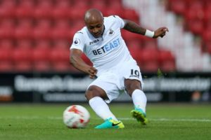 Swansea City to use Andre Ayew as striker next season after Gomis departure