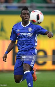 Christian Atsu makes first Chelsea appearance two years after joining club