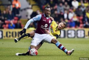 Report: Nice target Aston Villa's Jordan Ayew on loan