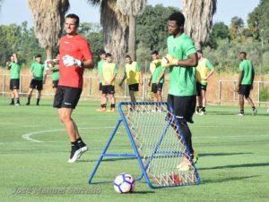 Photos: Ghana goalkeeper Razak Brimah showing good pre-season form